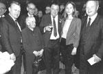 1983: Ehrung Anni Holzinger durch Ministerpräsident Franz-Josef Strauß